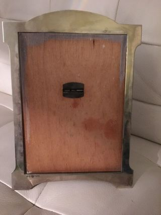 Vintage Silver Plated Picture Frame,  Davis & Sons Glasgow. photo