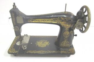 Vintage Singer Sewing Machine September 1923 Treadle (p) photo