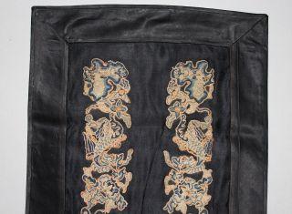 19th Century Chinese Silk Panel - E photo