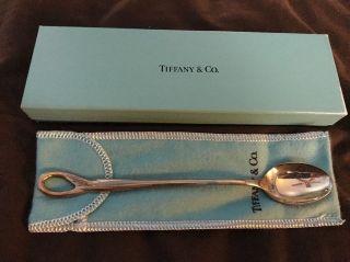 Tiffany & Co.  Vintage Elsa Peretti Sterling Silver Padova Baby Feeding Spoon photo