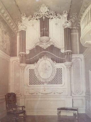 1897 Aeolian Pipe Organ York City 5th Ave.  Charles Henry Davis Photographer photo