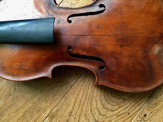 Old Violin For Restoration | Alte Geige Antike Violine | To Restore photo