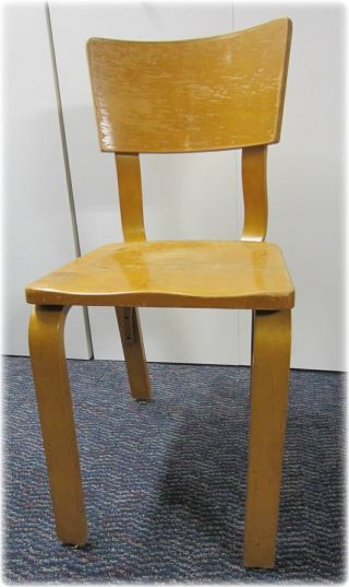 Vintage Thonet Bentwood Mid Century Dining Room Chair photo