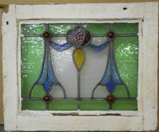 Old English Leaded Stained Glass Window Droop Design 19.  25