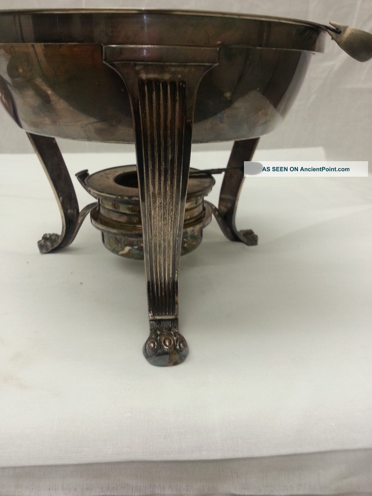 Antique Gorham Manufacturing Chafing Dishes 1900 ' S Lid Stand Plates Burner 6pc Other Antique Silverplate photo
