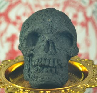 Scary Prai Black Skulls Taken From 59 Ghosts Necromancer Amulet Occult Sorcery photo