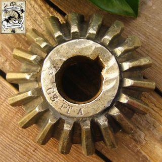 Antique Wwi 1916 British Royal Navy Hms G3 Submarine War Relic Marine Cog Gear photo