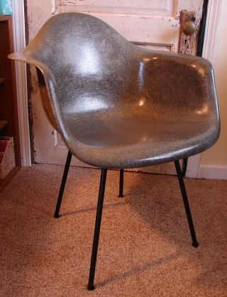 Charles Eames Herman Miller Zenith Rope Edge Shell Chair Mid Century Modern 1950 photo
