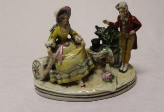 Rare Antique German Porcelain Figural Figurine 20201 photo