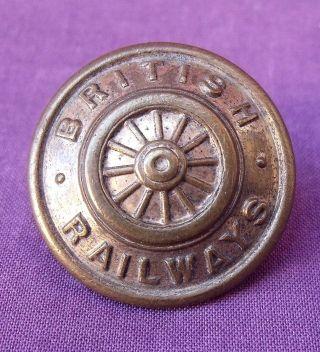 Vintage British Railways Button 15/16