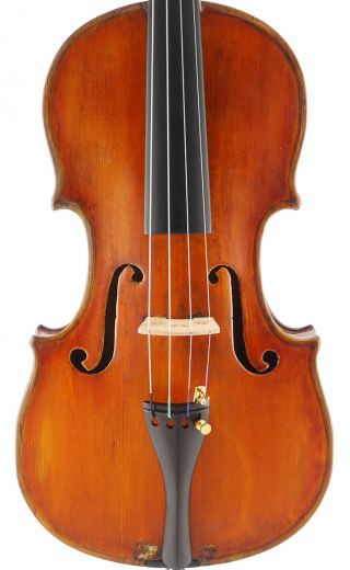 Fine - Antique Carolus Badarello Labeled 4/4 Italian Master Violin photo