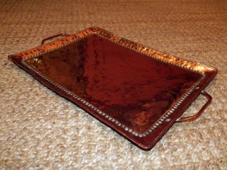 John Pearson Arts & Crafts Copper Tray photo