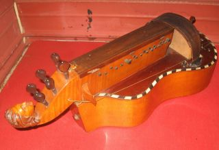 1800s Hurdy - Gurdy.  Made In France By Henry Thouvenal? Repair Project. photo