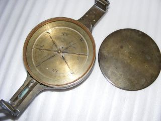 Old Mining Compass By Chadburn Bros.  Of Sheffield,  C.  1837 - 1884 photo