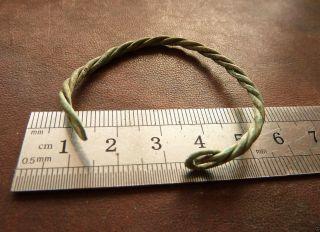 Ancient Bronze Bracelet (k817). photo