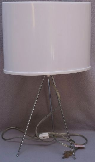 Mid Century Modern Atomic Mood Lamp By Fuder,  Rare photo