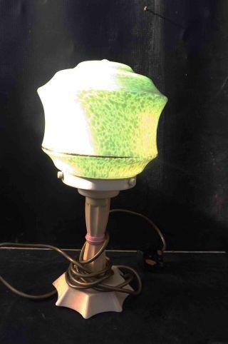 Art Deco Table Lamp photo
