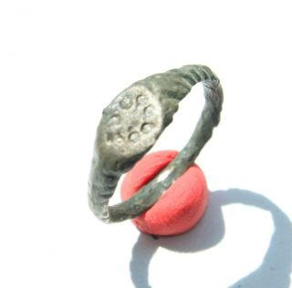 Antique Bronze Finger Ring With Image (jjj04) photo