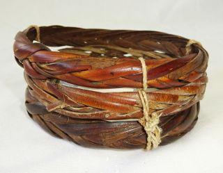 Guinea Asmat Tribe Baket Woven Bangle Bracelet (eic) photo