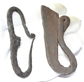 Roman Iron Fire Starters - Ancient Military Legionary Artifact - A987 photo