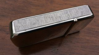 An Early Victorian Silver Vesta Case Made By Benjamin Barling In London 1850 photo