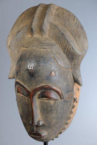 Baule Mblo Costume Mask,  Ivory Coast,  African Tribal Arts,  African Masks photo