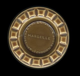 60s Cie De Navigation Fraissinet Et Cyprien Fabre Marseille Ceramic Advertising photo
