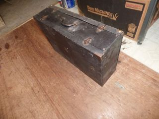 1907 Rare Windsor Suitcase Ww Military Chaplain ' S Portable Organ,  Revivals photo