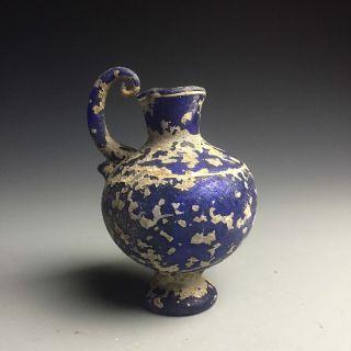 A Rare Roman Glass Bottle 4 photo