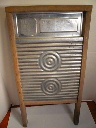Primitive Hand - E Magic Circle Washboard Aluminum Ridges photo