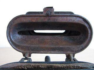 1890 ' S Cast Iron Single Wick Kerosene Heater/stove Cleveland Fdy Co Model No 01 photo