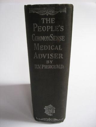 The Peoples Common Sense Medical Adviser R.  V.  Pierce M.  D.  Buffalo 1918 photo