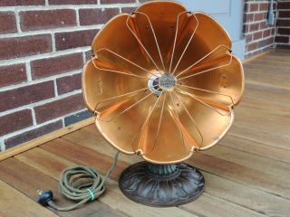 1920 Antique Universal Landers Frary Clark Electric Copper Heater, photo