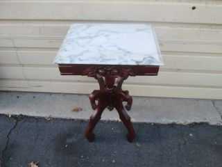 57593 Victorian Furniture End Table Stand photo