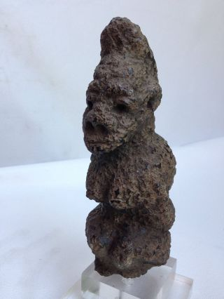 Mende Nomoli,  Kissi Pomdo Steatite Figure,  Sierra Leone. photo