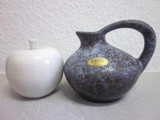 Jopeko German Pop Art Vase Lava Wgp Ceramic 60s 70s Era Tschoerner Rare Design photo