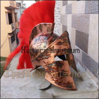 King Spartan 300 Movie Helmet (king Leonidas) Sca Costumes Kjs5 photo