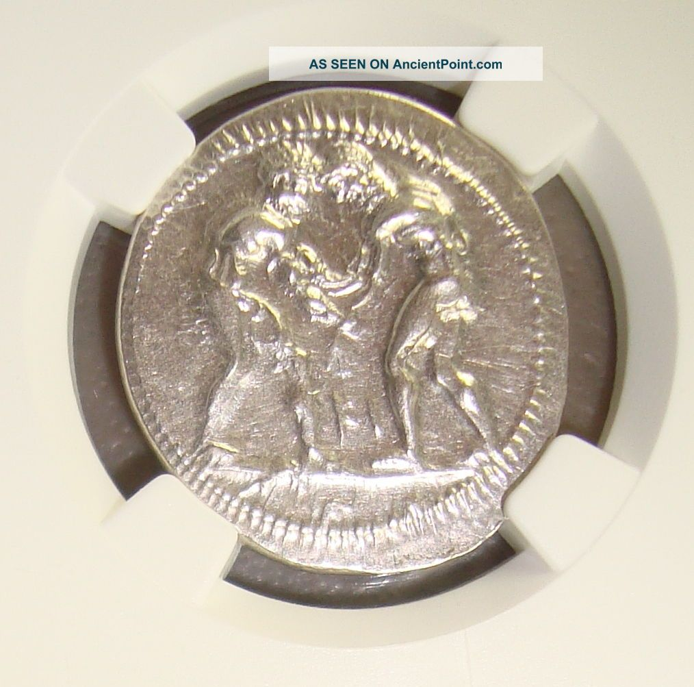 Ca.  370 - 330 Bc Pamphylia,  Aspendus Ancient Greek Silver Stater Ngc Ch Au 4/5 4/5 Greek photo