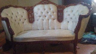 French Vintage Loveseat photo