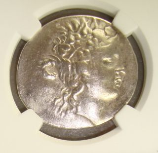 168 - 148 Bc Thrace,  Thasos Ancient Greek Silver Tetradrachm Ngc Vf photo