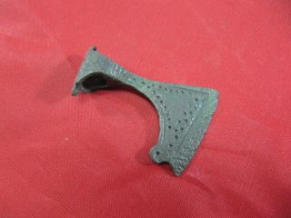 Ancient Viking Bronze Axe Head Amulet Pendant 900 - 1000 Ad Kievan Rus photo