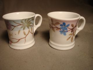 Two French Old Paris Child ' S Mug / Cup