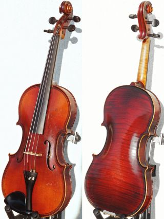 Very Fine Antique Violin By Karl Hofner,  Schonbach.  Build & Tone photo