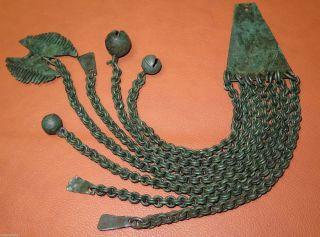 Ancient Viking Bronze Pendant Amulet.  Museum 1 photo