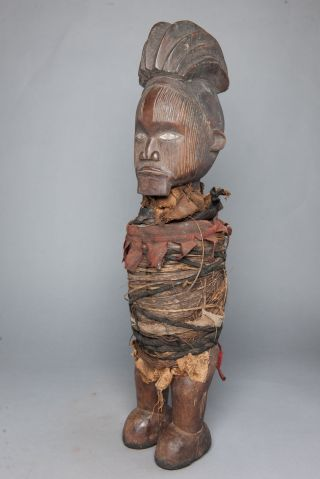 Teke Tege Figure,  Congo,  Gabon - African Tribal Arts,  African Figures photo
