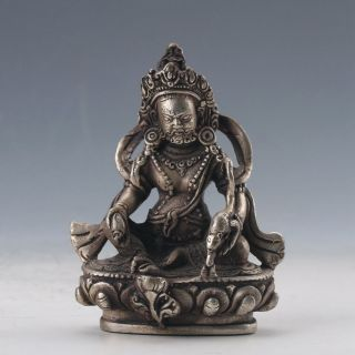 Chinese Cupronickel Hand - Carved Buddhas Statue photo