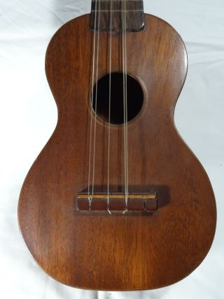 Antique C F Martin Taropatch Ukulele Style 1 C.  1919 - 20 Very Early Cond photo