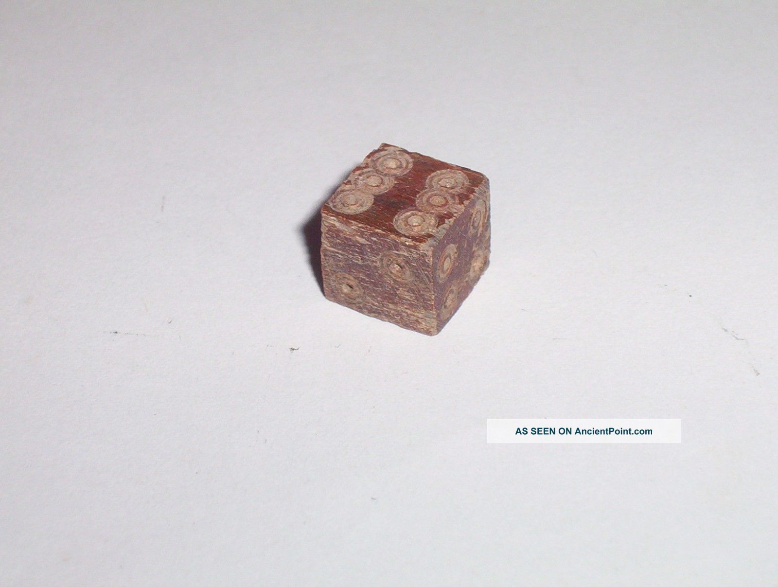 Ancient Roman Bone Dice C.  4th A.  D.  1600 Years Old Roman Small Roman photo