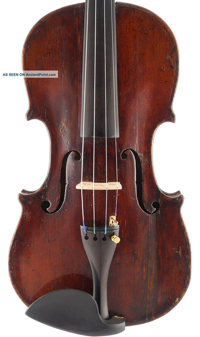 Fine - Old,  Antique Italian 4/4 Master Violin String photo