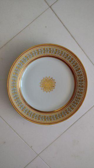 Antique Russian Imperial Porcelain Plate Babigon Service photo